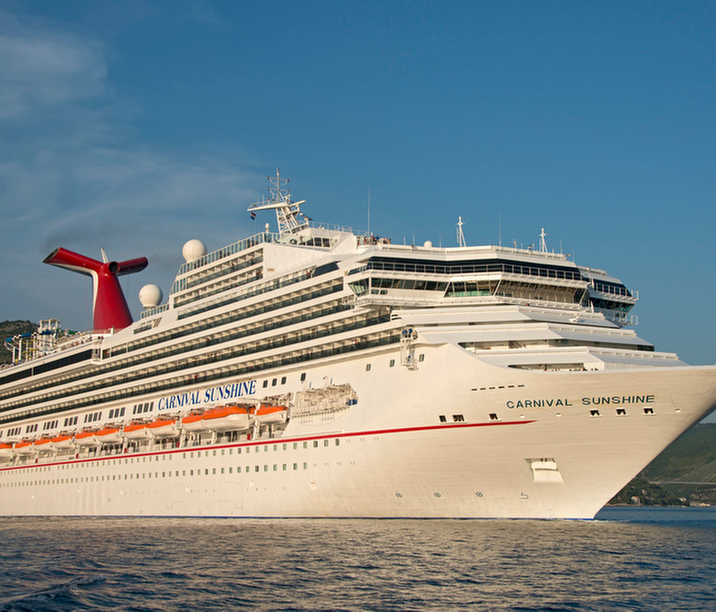 The 102,853-ton Carnival Sunshine is the only member of Carnival's Sunshine Class of ships. It originally debuted in 1996 as Carnival Destiny but was renamed in 2013 following a massive makeover. At the time of its debut, it was the largest cruise sh