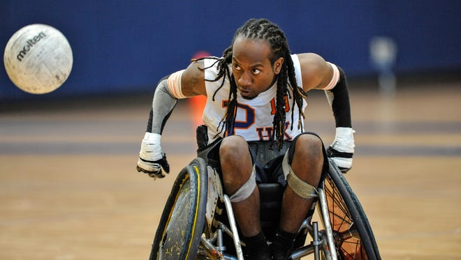 Joe Jackson, an industrial engineering student  at Arizona State University and a former Chandler High football player, now is  a member of the elite-level team that won the 2014 U.S. Quad Rugby Association national championship last April in Louisville, Ky.