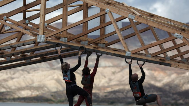The Dead Ringer obstacle at a Tough Mudder.