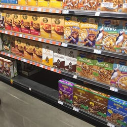 Empty Whole Foods Market store shelves anger shoppers