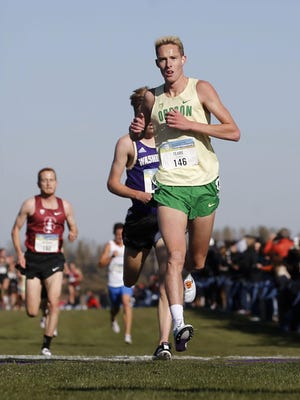 Oregon all-American Cooper Teare was expected to lead the Oregon men's cross country team this fall. [Andy Nelson/The Register-Guard] - registerguard.com