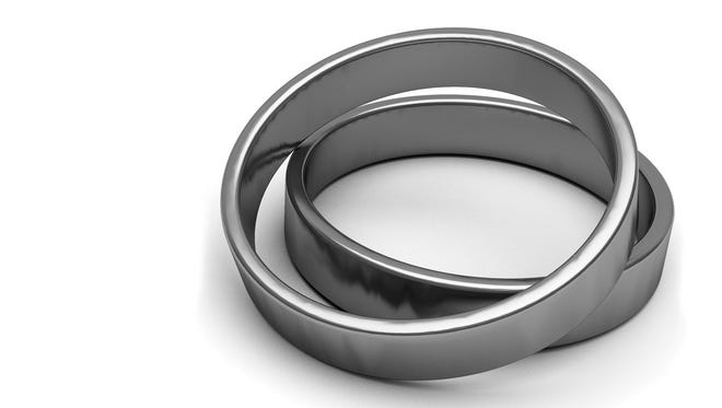 Justin Blair needed only to resize his wedding ring after it was found.