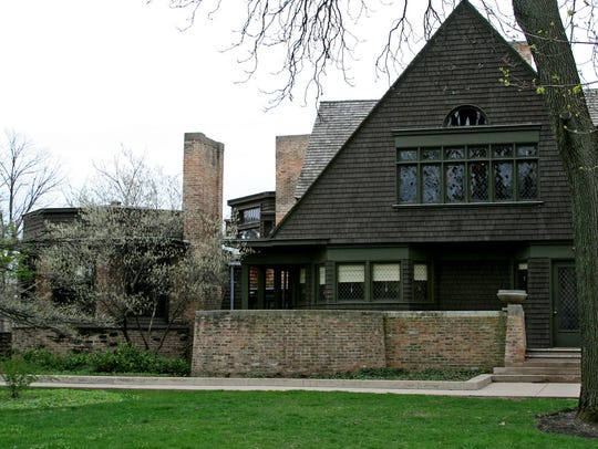 Frank Lloyd Wright's Home and Studio, representing