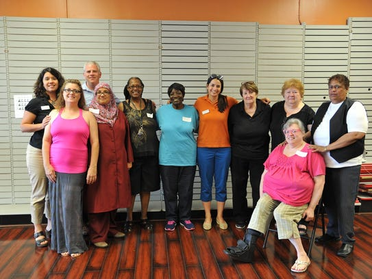 Members of the Food Bank of the Southern Tier's Speakers