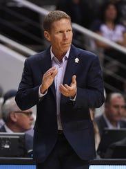 Gonzaga Bulldogs head coach Mark Few.