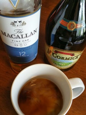 Add some whiskey and Irish cream to coffee for a Christmas morning spirit.