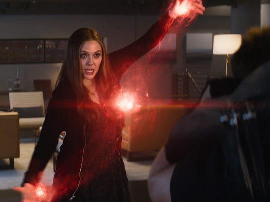 Scarlet Witch (Elizabeth Olsen) is one of the newer