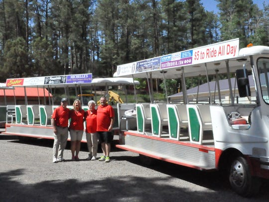Ruidoso Tram operates from 10 a.m. to 5 p.m. every