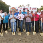 Cheatham County officials and members of the Pleasant View Volunteer Fire Department broke ground on a new fire station that is part of the county's long-range fire plan. The station is being built at the corner of Thomasville and Mosley Ferry roads in the north end of the county.