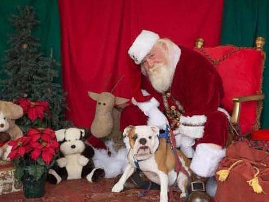 On Nov. 21, from 10 a.m.-3 p.m., Pet Supermarket, 7070 College Pkwy, in Fort Myers will be hosting a Santa Paws event to benefit Buddies Thru Bullies English Bulldog Rescue.