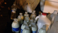 Milk prepared for tear gas