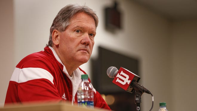 FILE -- Fred Glass, Indiana University athletic director