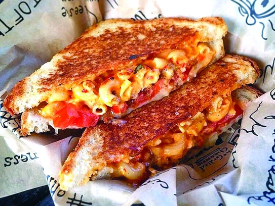Pimento Mac & Chee at The Grilled Cheeserie.