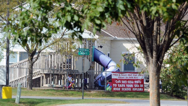 Hickory Tree Child Care Center west of Selbyville is shown Tuesday morning.