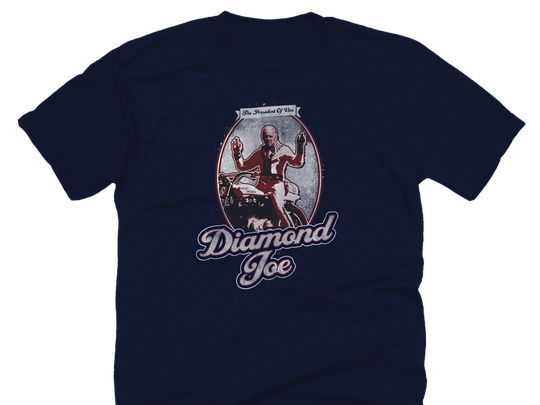 "The Onion's ""Diamond Joe"" t-shirt."