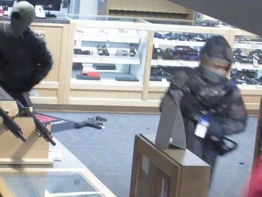 Trop Gun Shop burglary