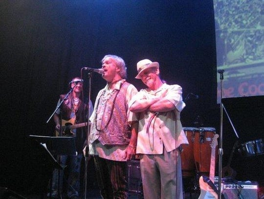 Billy Scherer, left, is best known to St. Cloud audiences