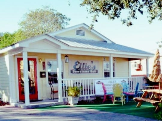 Just off Colorado Avenue heading into downtown Stuart sits a whimsical little restaurant known as Ellie's Downtown Deli.