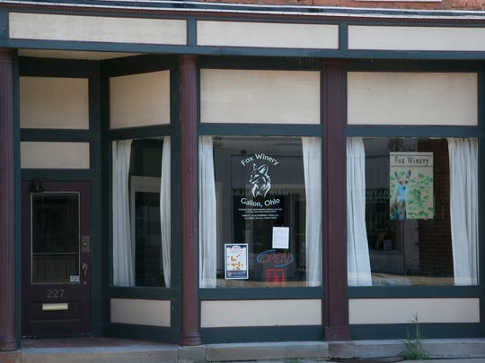 Fox Winery in downtown Galion is scheduled to open