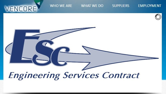 Screen shot of Vencore's home page for Kennedy Space Center's $1.9 billion Engineering Services Contract.