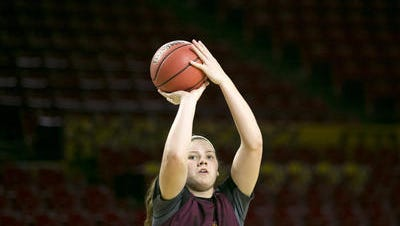 Sophie Brunner is one of four returning starters for ASU women's basketball, coming off a 29-win season in 2014-15.