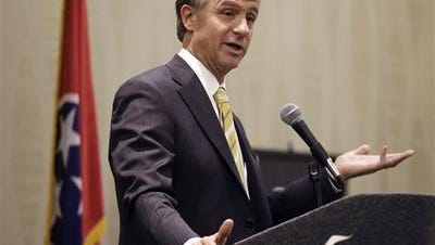 Gov. Bill Haslam is the new leader of the national Republican Governors Association.