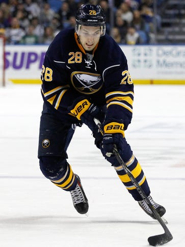 Buffalo Sabres center Zemgus Girgensons has 17 points