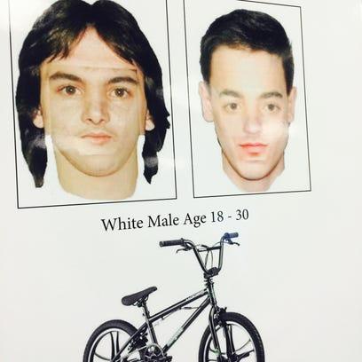 Artist rendering of man detectives say has been groping
