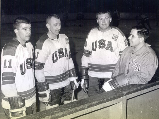 Casey, left, was on the 1967 U.S. National team.