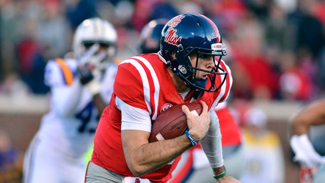 Ole Miss quarterback Chad Kelly and the Rebels will square off with fourth-ranked Florida State Monday night in Orlando.