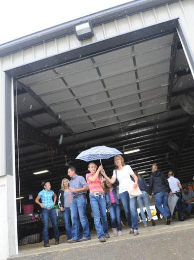 July 919, 2014 Livestock Auction at Crawford County Fair