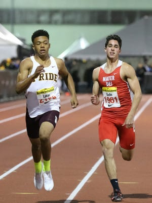Mountain Pointe junior  Paul Lucas leads the nation in the 200 and the  400.