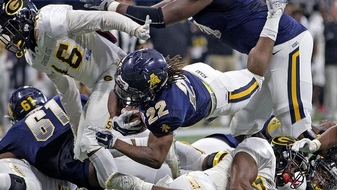 North Carolina A&T won its second Celebration Bowl title last season in beating Grambling, 21-14, in Atlanta.