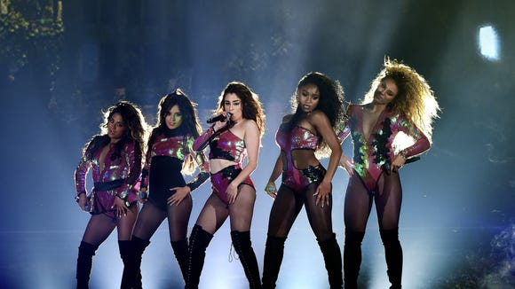 Fifth Harmony perform onstage during the 2016 Billboard