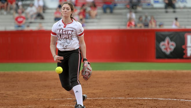 UL's Summer Ellyson gets her first collegiate start for the Cajuns on Saturday against DePaul.