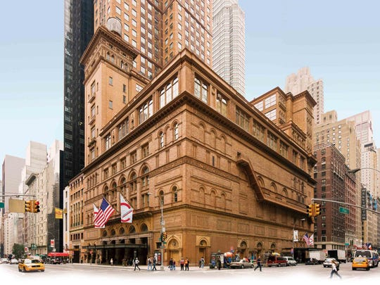 New York City's Carnegie Hall