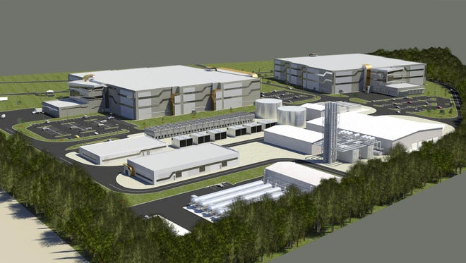 Wolf Technology Center rendering
