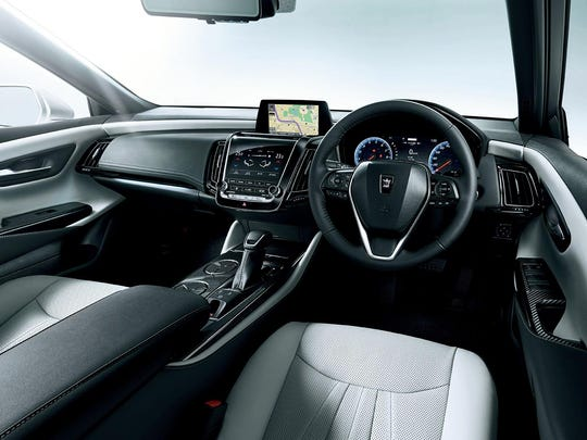 Toyota's Data Communication Module hardware will come standard in the Crown, allowing owners to perform tasks such as closing their car windows from a mobile phone and asking a virtual assistant for directions using the company's T-Connect service.