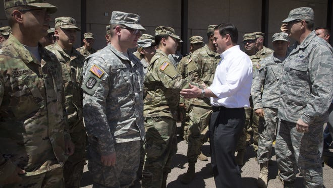 Gov. Doug Ducey got a small increase in tax breaks for military veterans that lets him maintain his pledge to reduce taxes every year.