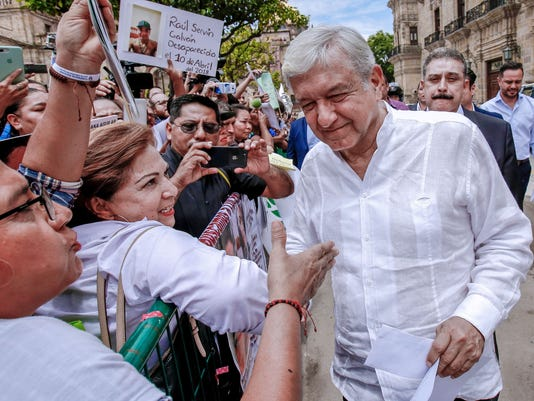 MEXICO-POLITICS-LOPEZ OBRADOR-TOUR-THANKS