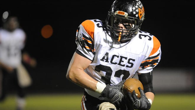 Amanda-Clearcreek linebacker Cole Genders was a Division IV first-team All-Central District pick on Tuesday.