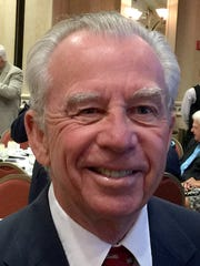 Dudley Goodlette, outgoing chairman of the Greater Naples Chamber of Commerce