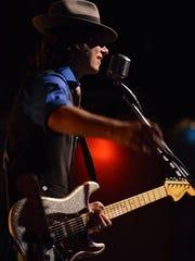 Singer Mike Imbascian of Mike Imbasciani & The Bluez Rockerz