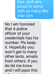 mom texts dead son to cope grief gets text back