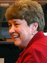 Sen. Jean Leising, R-Oldenburg,