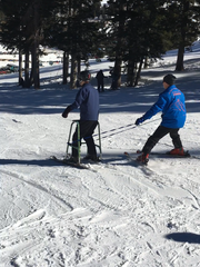 Skiers like El Paso resident Sean Marusich benefit from the Ski Apache Adaptive Sports Program.