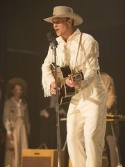 Tom Hiddleston spent five weeks preparing to play Hank Williams in 'I Saw the Light.'