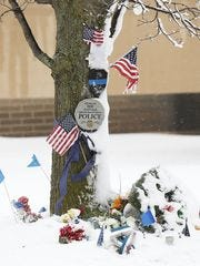 A memorial was created one year after Trevor Casper's