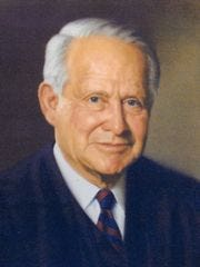 Perry Hooper Sr.'s official portrait