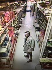 Forge Hardware theft suspect.
